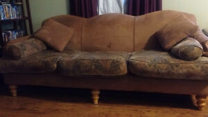 Custom Feather Couch