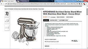KITCHENAID Architect Series Stand Mixer With Stainless Steel Bow