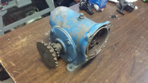 REDUCTION ELECTRIC MOTOR GEARBOX