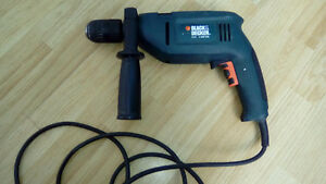 Black and Decker DR700 Type 1 1/2 Variable Speed Hammer Drill