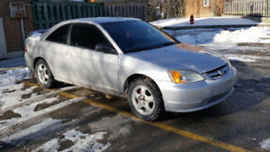 2003 honda civic daily-driver (very reliable) low km