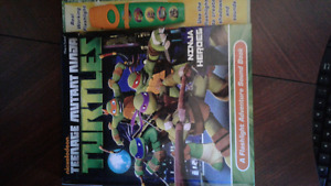 Ninja turtle play and sound book