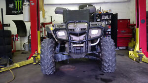 2004 Canam Outlander first 3000 takes in