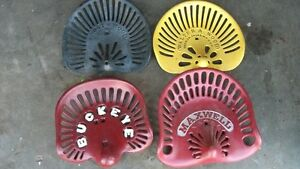 Old Cast Iron Tractor Seats