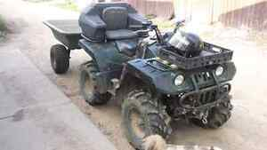 2004 4x4 Yamaha Grizzly 600