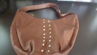 Umberto Bossi Roma Milano Brown Faux Leather Purse