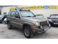 2005 (05) Jeep Cherokee 2.8TD CRD (165bhp) 4X4 RARE * Renegade * TURBO DIESEL *