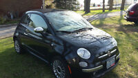 2012 Fiat 500c Convertible LOW KMS, MINT