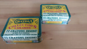 Collectible Crayons box brand new