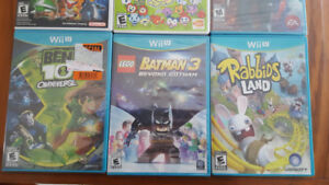 Lot of Wii and Wii U Games For Sale (Prices Marked)