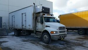 2007 Sterling Acterra 24ft box dual temp reefer truck