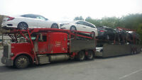 Car carrier truck and job