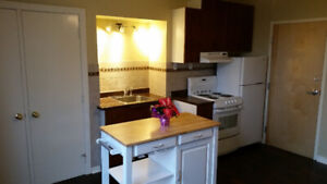 Furnished One Bedroom Suite, Available Oct 1st with Heat & light