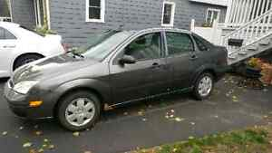 Selling 2007 Ford Focus as is.