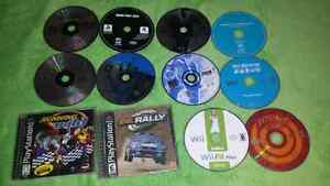 For sale, video games disc bundle as is all for 25 dollars . p