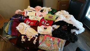 6-12 Month Winter/Fall Baby Girl Clothes