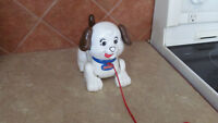 PETIT CHIOT SNOOPY DE FISHER PRICE--