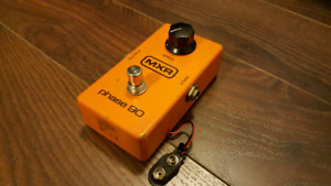 Vintage 1979 MXR Phase 90 with power supply mod