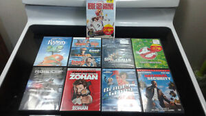 Movies for sale ( 9 Titles on DVD) Great Condition.