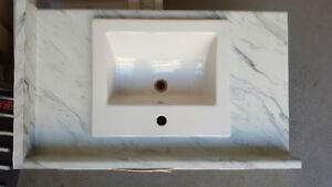 Laminate Countertop (Marble Calcatta) Foremost Sink