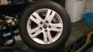 Dodge grand caravan alloy rims with newer tires