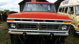 1977 FORD 4X4 SHORTBOX