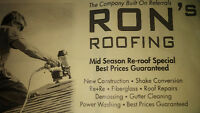 Mid Season Roofing Specials