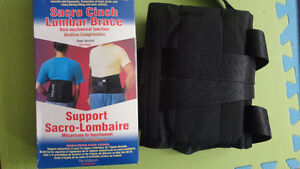 BRAND NEW BACK BRACE SUPPORT FOR THERAPY Windsor Region Ontario image 2