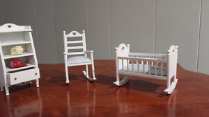 Doll house furniture plus