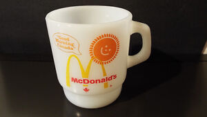 9 FIRE KING MUGS INCLUDING MCDONALDS London Ontario image 1