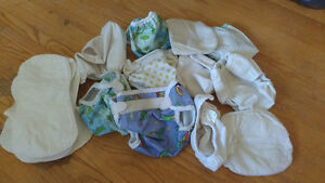 11 Bummis Diaper covers, Newborn and Small