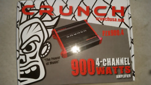 Crunch 900 watt car amplifier