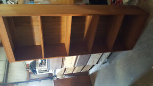 shelving units -bookcases