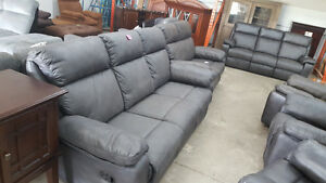 3 Piece couch, sofa and chair all reclining - Delivery Available