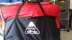 DHB mountain bike travel bag.