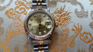 Ladies Rolex Watch (Justdate)