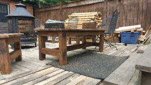outdoor patio furniture.Hardwood Maple