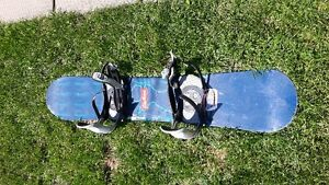 Rossignol Sublime snowboard with Firefly bindings