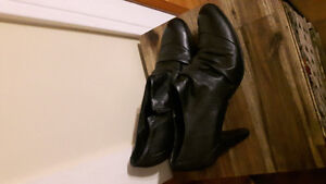 Leather Dress Boot