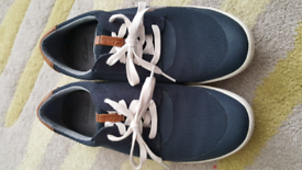 Clark's Men's boat style trainers (size 8/42 EUR)
