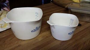 Vintage Corningware Corn Flower Bowls Etc London Ontario image 4