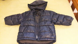 BLACK BABY GAP SNOW SUIT SET FOR 18-24MTHSOLD Cambridge Kitchener Area image 3