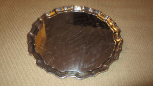 Antique 1942 Birks Sterling Silver Tray Weights 1054 Grams