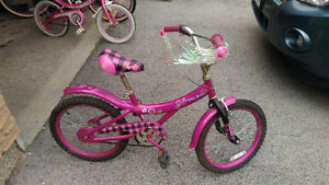 "Purple Rain Girl's bike - 18"" wheels"