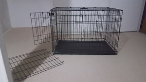 Dog crates - wire and hard, medium sized