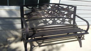 Metal Patio Bench for sale