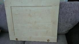 Kitchen unit door front 600mm light pine colour (x4 available)