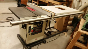 """Delta Unisaw 10"""" 3HP Table Saw - 50"""" Fence - Mobile base"""