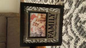 Never Used Family Picture Frame
