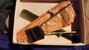Vintage clippers and gotta shears